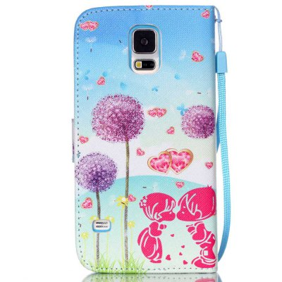 High-Grade Painted PU Phone for Samsung Galaxy S5Samsung S Series<br>High-Grade Painted PU Phone for Samsung Galaxy S5<br><br>Features: Cases with Stand, With Credit Card Holder, With Lanyard, Dirt-resistant<br>For: Samsung Mobile Phone<br>Material: PU Leather<br>Package Contents: 1 x Phone Case<br>Package size (L x W x H): 14.50 x 8.00 x 1.80 cm / 5.71 x 3.15 x 0.71 inches<br>Package weight: 0.0640 kg<br>Style: Novelty