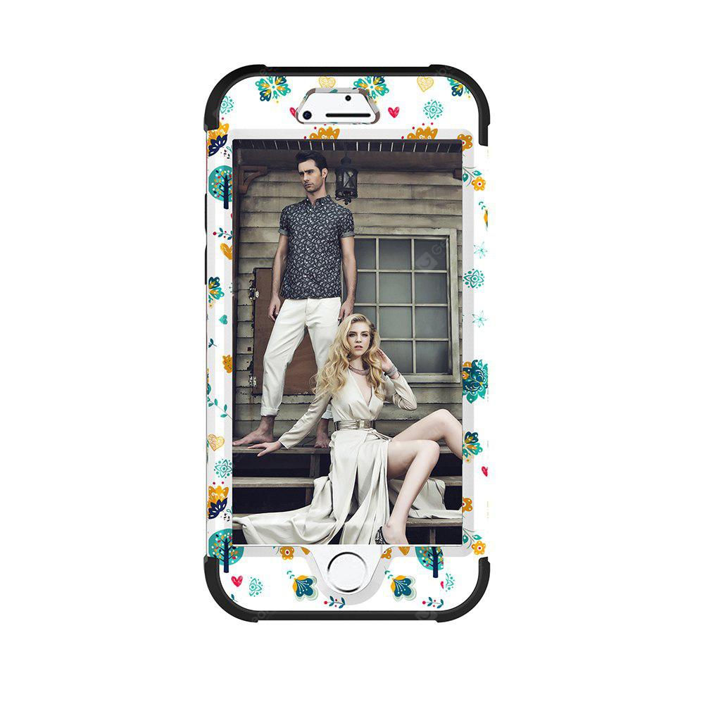 Full Body PC Silicone Cover Protective Case for iPhone 8 Plus