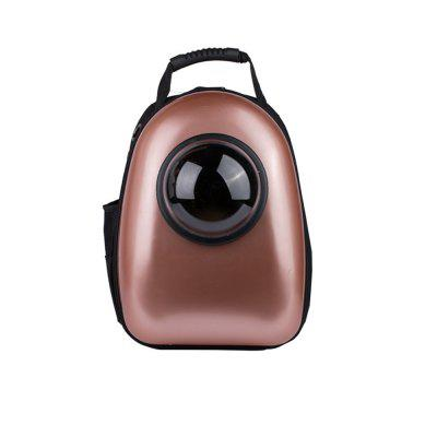 Buy ROSE GOLD Lovoyager Tkb1101 Travel Air Space Bubble Pet Carrier Bag Breathable Portable Dog Cat Backpack for $67.83 in GearBest store