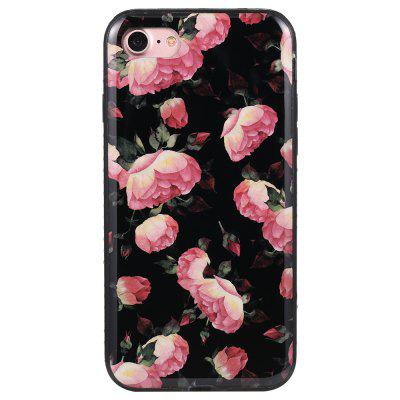 Wkae Porcelain Flower Mobile Phone Shell Surrounded By Rhinestone for IPhone 7 / 8iPhone Cases/Covers<br>Wkae Porcelain Flower Mobile Phone Shell Surrounded By Rhinestone for IPhone 7 / 8<br><br>Compatible for Apple: iPhone 7, iPhone 8<br>Features: Back Cover<br>Material: TPU, PC<br>Package Contents: 1 x Phone Case<br>Package size (L x W x H): 19.00 x 10.00 x 2.00 cm / 7.48 x 3.94 x 0.79 inches<br>Package weight: 0.0237 kg<br>Style: Floral, Diamond/Rhinestone Decorated Case, Novelty