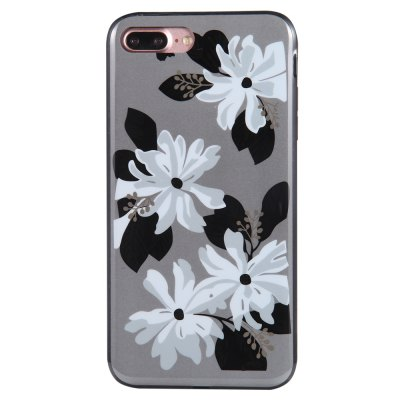Wkae Porcelain Flower Mobile Phone Shell Surrounded By Rhinestone for IPhone 7 Plus / 8 PlusiPhone Cases/Covers<br>Wkae Porcelain Flower Mobile Phone Shell Surrounded By Rhinestone for IPhone 7 Plus / 8 Plus<br><br>Compatible for Apple: iPhone 7 Plus, iPhone 8 Plus<br>Features: Back Cover<br>Material: TPU, PC<br>Package Contents: 1 x Phone Case<br>Package size (L x W x H): 19.00 x 10.00 x 2.00 cm / 7.48 x 3.94 x 0.79 inches<br>Package weight: 0.0309 kg<br>Style: Floral, Diamond/Rhinestone Decorated Case, Novelty