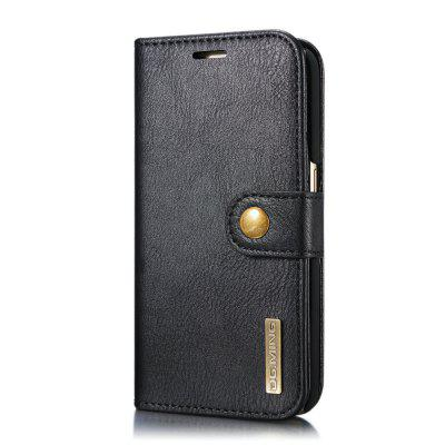 DG.MING Cow Leather Separable Back Case with Magnetic Button Flip Wallet Cover for Samsung Galaxy S7Samsung S Series<br>DG.MING Cow Leather Separable Back Case with Magnetic Button Flip Wallet Cover for Samsung Galaxy S7<br><br>Features: With Credit Card Holder<br>For: Samsung Mobile Phone<br>Material: Cowhide<br>Package Contents: 1 x Cow Leather Flip Wallet Case<br>Package size (L x W x H): 20.00 x 20.00 x 5.00 cm / 7.87 x 7.87 x 1.97 inches<br>Package weight: 0.0500 kg<br>Product weight: 0.0300 kg<br>Style: Name Brand Style