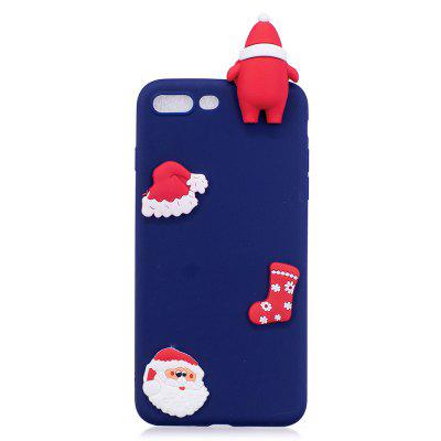 Christmas Hat Tree Santa Claus Reindeer 3D Cartoon Animals Soft Silicone TPU Case for iPhone 7 Plus / 8 PlusiPhone Cases/Covers<br>Christmas Hat Tree Santa Claus Reindeer 3D Cartoon Animals Soft Silicone TPU Case for iPhone 7 Plus / 8 Plus<br><br>Features: Anti-knock<br>Material: TPU<br>Package Contents: 1 x Phone Case<br>Package size (L x W x H): 18.00 x 13.00 x 3.00 cm / 7.09 x 5.12 x 1.18 inches<br>Package weight: 0.0600 kg<br>Style: 3D Print