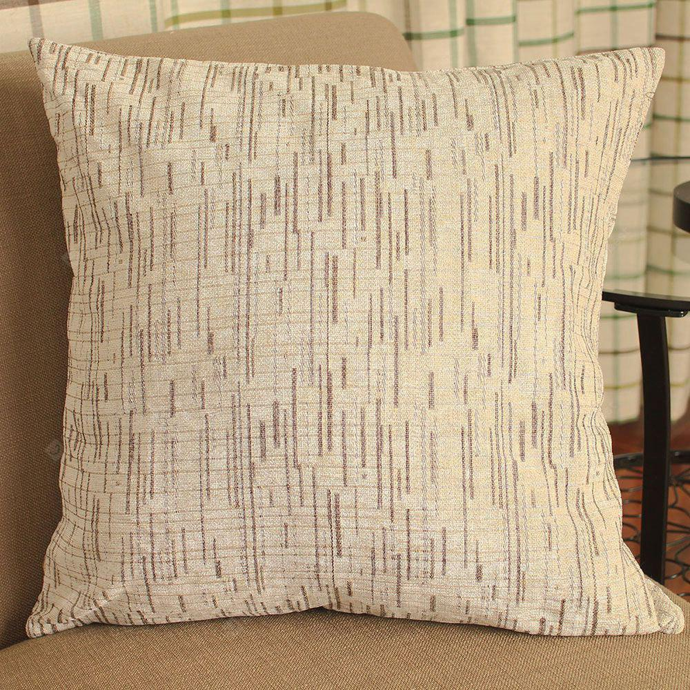European Style Simple Chenille Cashmere Striped Pillowcases