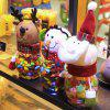 Christmas Biscuit Candy Storage Jar Children Gift Decoration - COLORMIX