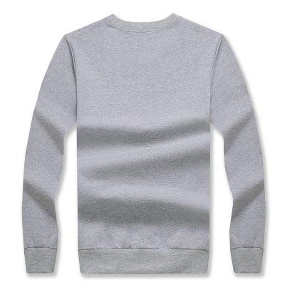 Mens Printing Fashion Long-Sleeved Slim SweatshirtMens Hoodies &amp; Sweatshirts<br>Mens Printing Fashion Long-Sleeved Slim Sweatshirt<br><br>Material: Cotton, Polyester<br>Package Contents: 1 x Sweatshirt<br>Shirt Length: Regular<br>Sleeve Length: Full<br>Style: Casual<br>Weight: 0.2500kg