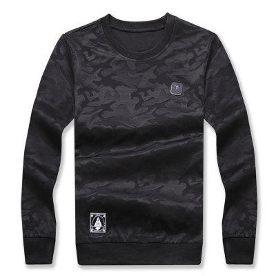 Men's Fashion Camouflage Long Sleeve Sweatshirt