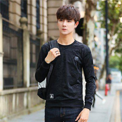 Mens Fashion Camouflage Long Sleeve SweatshirtMens Hoodies &amp; Sweatshirts<br>Mens Fashion Camouflage Long Sleeve Sweatshirt<br><br>Material: Cotton, Polyester<br>Package Contents: 1 x Sweatshirt<br>Shirt Length: Regular<br>Sleeve Length: Full<br>Style: Casual<br>Weight: 0.2300kg
