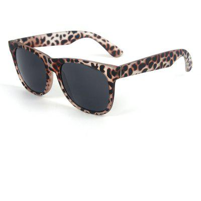 Buy LEOPARD PRINT PATTERN TOMYE 9901 Cool Casual Square Frame PC Sunglasses for $11.31 in GearBest store