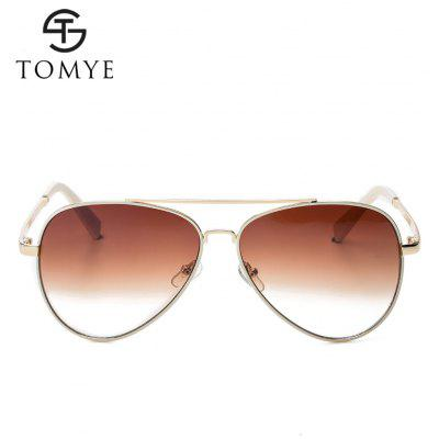 TOMYE 2162 Casual Colorful Aviator SunglassesMens Sunglasses<br>TOMYE 2162 Casual Colorful Aviator Sunglasses<br><br>Brand: TOMYE<br>Frame Length: 146mm<br>Frame material: Copper<br>Gender: For Women<br>Group: Adult<br>Lens height: 54mm<br>Lens material: Resin<br>Lens width: 60mm<br>Nose: 16mm<br>Package Contents: 1 x Pair of Sunglasses, 1 x Glasses Case, 1 x Glasses Cloth<br>Package size (L x W x H): 16.00 x 6.00 x 6.00 cm / 6.3 x 2.36 x 2.36 inches<br>Package weight: 0.0700 kg<br>Product weight: 0.0300 kg<br>Style: Pilot<br>Temple Length: 135mm