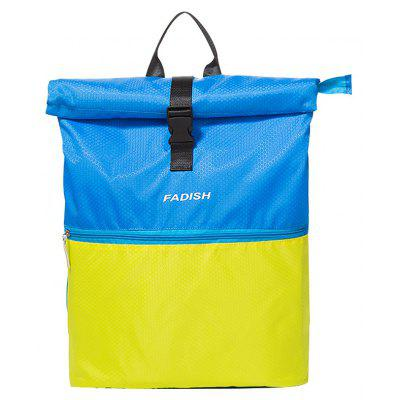 Buy BLUE Travel Sports Storage Colorblock Pattern Large Capacity Fitness Bag for $25.58 in GearBest store
