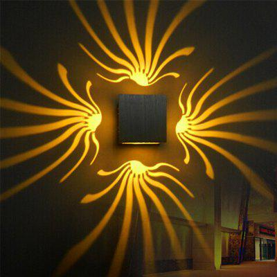 Buy YELLOW Background Wall Lamp Bright Light for Stage Corridor for $12.11 in GearBest store