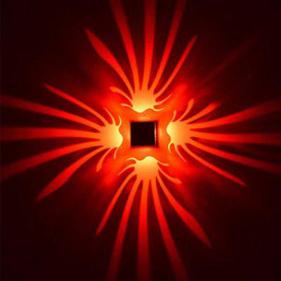 Buy RED Background Wall Lamp Bright Light for Stage Corridor for $12.11 in GearBest store