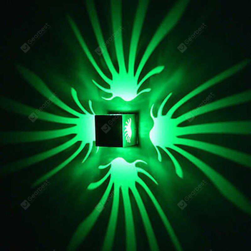 GREEN Background Wall Lamp Bright Light for Stage Corridor