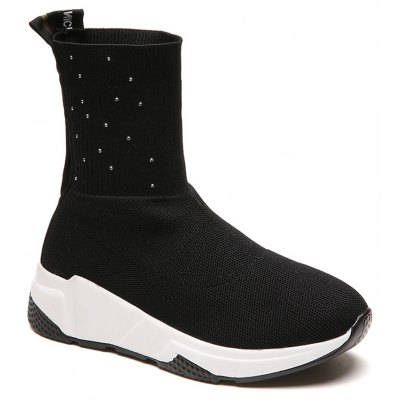 YY08 Women Boots Fashion Waterproof Boot Casual Sports Shoes