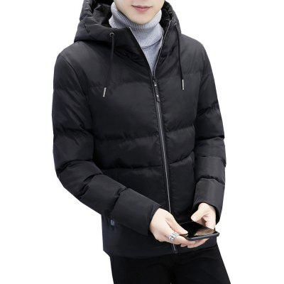 Winter YoungThick Warm Coat Jacket Men Cotton Male