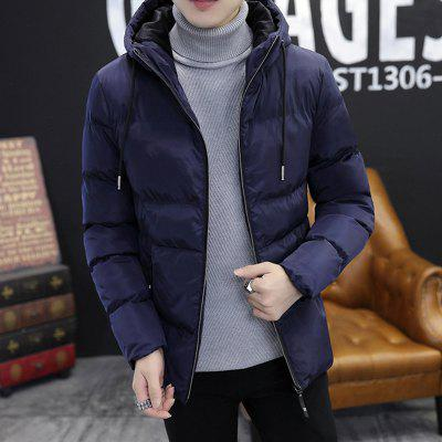 Winter YoungThick Warm Coat Jacket Men Cotton MaleMens Jackets &amp; Coats<br>Winter YoungThick Warm Coat Jacket Men Cotton Male<br><br>Clothes Type: Down &amp; Parkas<br>Colors: Black,Blue,Gray<br>Hooded: Yes<br>Lining Material: Synthetic<br>Materials: Polyamide, Acrylic<br>Package Content: 1 X Coat<br>Package size (L x W x H): 1.00 x 1.00 x 1.00 cm / 0.39 x 0.39 x 0.39 inches<br>Package weight: 0.5000 kg<br>Size1: M,L,XL,4XL,2XL,3XL