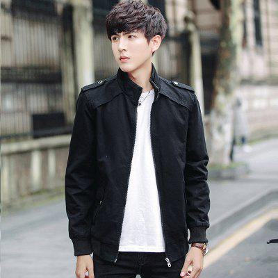 Fashion Slim Collar Wash JacketMens Jackets &amp; Coats<br>Fashion Slim Collar Wash Jacket<br><br>Clothes Type: Jackets<br>Colors: Black,Green,Khaki,Royalblue<br>Hooded: No<br>Materials: Nylon, Spandex, Broadcloth, Denim<br>Package Content: 1 x Jacket<br>Package size (L x W x H): 1.00 x 1.00 x 1.00 cm / 0.39 x 0.39 x 0.39 inches<br>Package weight: 1.0000 kg<br>Size1: M,L,XL,4XL,2XL,3XL