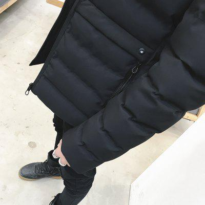Warm Down Winter Coat Man  JacketsMens Jackets &amp; Coats<br>Warm Down Winter Coat Man  Jackets<br><br>Clothes Type: Down &amp; Parkas<br>Collar: Stand Collar<br>Colors: Black,Army green<br>Detachable Part: None<br>Hooded: No<br>Lining Material: Cotton,Synthetic<br>Materials: Down, Polyester, Cotton<br>Package Content: 1XCoat<br>Package size (L x W x H): 1.00 x 1.00 x 1.00 cm / 0.39 x 0.39 x 0.39 inches<br>Package weight: 0.5000 kg<br>Size1: M,L,XL,2XL,3XL<br>Thickness: Thickening