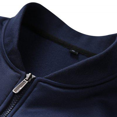 Men s Casual Two - piece SuitMens Hoodies &amp; Sweatshirts<br>Men s Casual Two - piece Suit<br><br>Clothes Type: Others<br>Colors: Black,Blue,White<br>Detachable Part: None<br>Fabric Type: Cotton<br>Hooded: No<br>Lining Material: Cotton,Others<br>Materials: Cotton<br>Package Content: 1 x Coat,1 x Pants<br>Package size (L x W x H): 1.00 x 1.00 x 1.00 cm / 0.39 x 0.39 x 0.39 inches<br>Package weight: 0.5000 kg<br>Pattern Type: Letter<br>Size1: 2XL,3XL,4XL,L,M,XL<br>Sleeve Style: Regular<br>Thickness: Medium thickness<br>Type: Slim