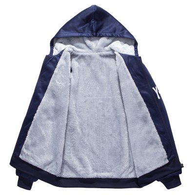 Mens Casual Jacket Thickening Hooded SuitMens Hoodies &amp; Sweatshirts<br>Mens Casual Jacket Thickening Hooded Suit<br><br>Clothes Type: Padded<br>Colors: Black,Blue,Gray<br>Detachable Part: None<br>Hooded: Yes<br>Lining Material: Cotton,Others<br>Materials: Cotton<br>Package Content: 1 x Coat, 1 x Pants<br>Package size (L x W x H): 1.00 x 1.00 x 1.00 cm / 0.39 x 0.39 x 0.39 inches<br>Package weight: 0.5000 kg<br>Size1: 2XL,3XL,L,M,XL