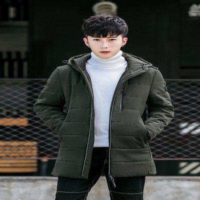 Mens Chest Zipper Long Section of Cotton ClothingMens Jackets &amp; Coats<br>Mens Chest Zipper Long Section of Cotton Clothing<br><br>Closure Type: Zipper<br>Clothes Type: Padded<br>Colors: Black,Blue,Gray,Army green<br>Detachable Part: None<br>Hooded: Yes<br>Materials: Down, Cotton<br>Package Content: 1 X Coat<br>Package size (L x W x H): 40.00 x 20.00 x 2.00 cm / 15.75 x 7.87 x 0.79 inches<br>Package weight: 0.5000 kg<br>Size1: M,L,XL,4XL,2XL,3XL<br>Sleeve Style: Regular<br>Style: Casual<br>Thickness: Thickening