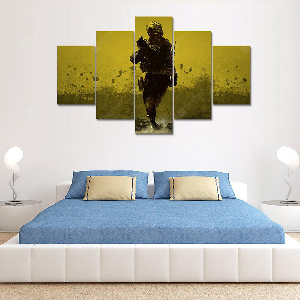Canvas Design Print Painting Home Decoration Wall Art Picture 5PCS