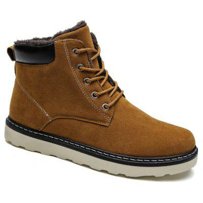 Mens Classic Outdoor Warm Fur Lining Boots