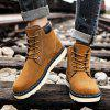 Mens Classic Outdoor Warm Fur Lining Boots - LIGHT BROWN