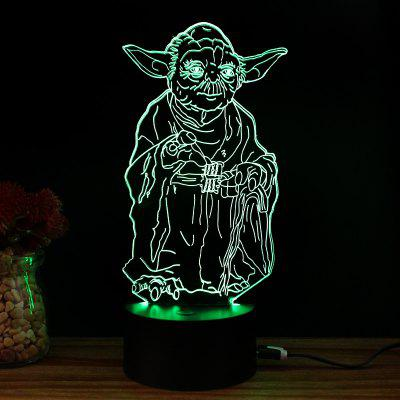 M.Sparkling TD055 Creative Famous Character 3D LED Lamp3D Lamps<br>M.Sparkling TD055 Creative Famous Character 3D LED Lamp<br><br>Brand: M.Sparkling<br>Feature: Rechargeable<br>Light Source Color: RGB<br>Package Content: 1 x Acrylic Board, 1 x ABS Pedestal, 1 x USB Cable, 1 x English Manual<br>Package Size ( L x W x H ): 24.00 x 17.00 x 5.00 cm / 9.45 x 6.69 x 1.97 inches<br>Product Size(L x W x H): 15.00 x 22.00 x 8.50 cm / 5.91 x 8.66 x 3.35 inches<br>Type: Creative Design<br>Voltage (V): 5V