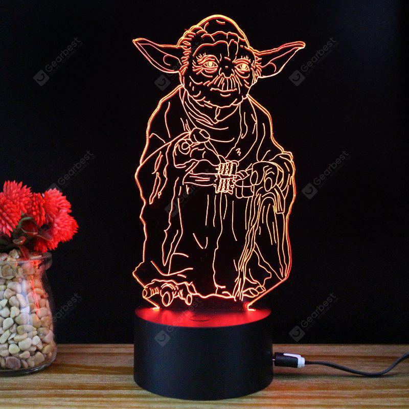 M.Sparkling TD055 Creative Famous Character 3D LED Lamp