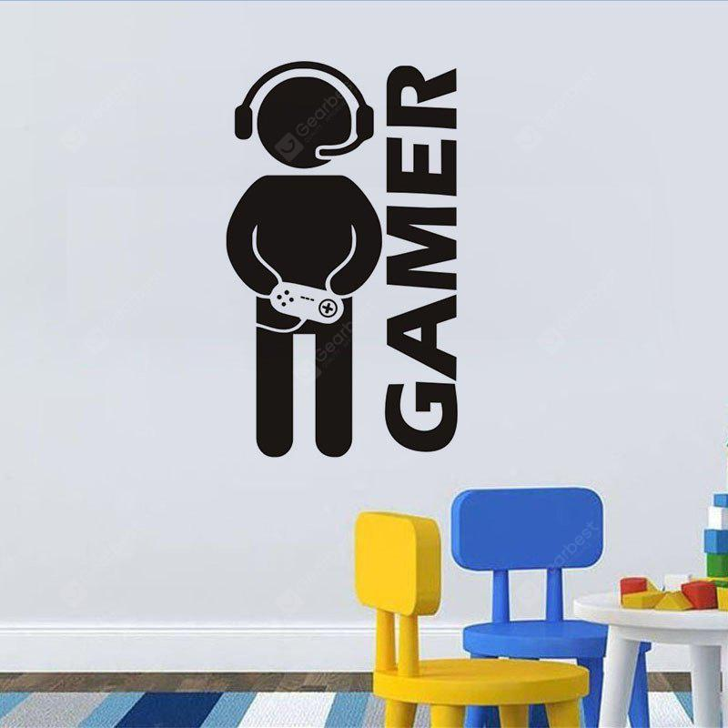 DSU Video Game Wall Sticker Vinyl Art Mural for Home Decoration Art Bedroom Poster Paper Decor