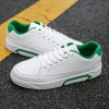 Sneakers Youth Outdoor Sports Tactical Men White Student Warm Fashion Shoes - WHITE AND GREEN