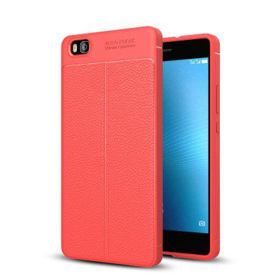 Case for Huawei P8 Lite Shockproof Back Cover Solid Color Soft TPU