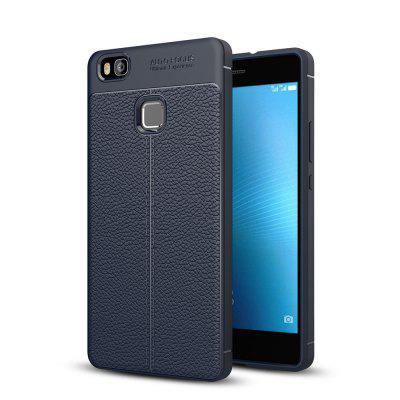 Buy DEEP BLUE Case for Huawei P9 Shockproof Back Cover Solid Color Soft TPU for $4.31 in GearBest store