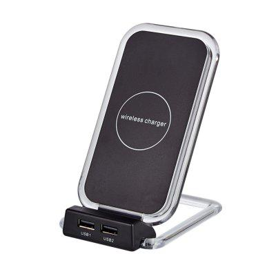 Smart Vertical Mobile Phone Universal QI Wireless Fast Charger for Samsung S7 S8 Note 8