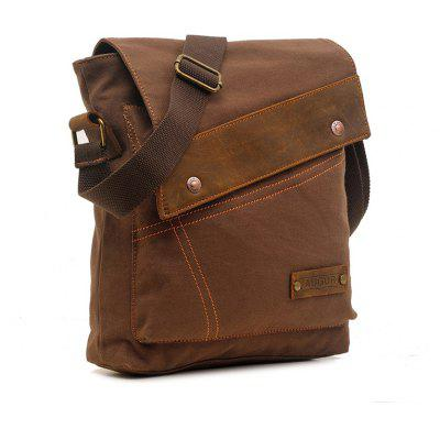 Buy COFFEE AUGUR Fashion Men Messenger Bag Male Travel Business Crossbody Shoulder Canvas Small Bags for $23.89 in GearBest store