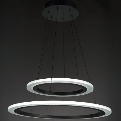 LED Pendant Lights Modern Hanging Lamps FixturesPendant Light<br>LED Pendant Lights Modern Hanging Lamps Fixtures<br><br>Battery Included: Non-preloaded<br>Bulb Base: None<br>Bulb Included: Yes<br>Bulb Type: LED<br>Certifications: CE,FCC,RoHs<br>Chain / Cord Adjustable or Not: Chain / Cord Adjustable<br>Chain / Cord Length ( CM ): 150<br>Color Temperature or Wavelength: 6000K<br>Decoration Material: Acrylic<br>Dimmable: No<br>Features: Eye Protection, Matte, Wrought Iron<br>Finish: Aluminum,Iron,Paint<br>Fixture Height ( CM ): 4<br>Fixture Length ( CM ): 60<br>Fixture Material: Acrylic,Metal<br>Fixture Width ( CM ): 60<br>Light Direction: Ambient Light<br>Light Source Color: Cold White<br>Number of Tiers: Dual Tier<br>Package Contents: 1 x Pendant Light<br>Package size (L x W x H): 57.00 x 57.00 x 13.00 cm / 22.44 x 22.44 x 5.12 inches<br>Package weight: 5.7000 kg<br>Product weight: 4.7000 kg<br>Remote Control Supported: No<br>Shade Material: Acrylic<br>Stepless Dimming: No<br>Style: Chic &amp; Modern, Artistic Style, LED, Modern/Contemporary, Simple Style<br>Suggested Room Size: 10 - 15?<br>Suggested Space Fit: Bedroom,Cafes,Dining Room,Hallway,Indoors,Kids Room,Living Room,Office,Study Room<br>Type: Pendant Light<br>Voltage ( V ): 110V - 220V<br>Wattage (W): &gt;20