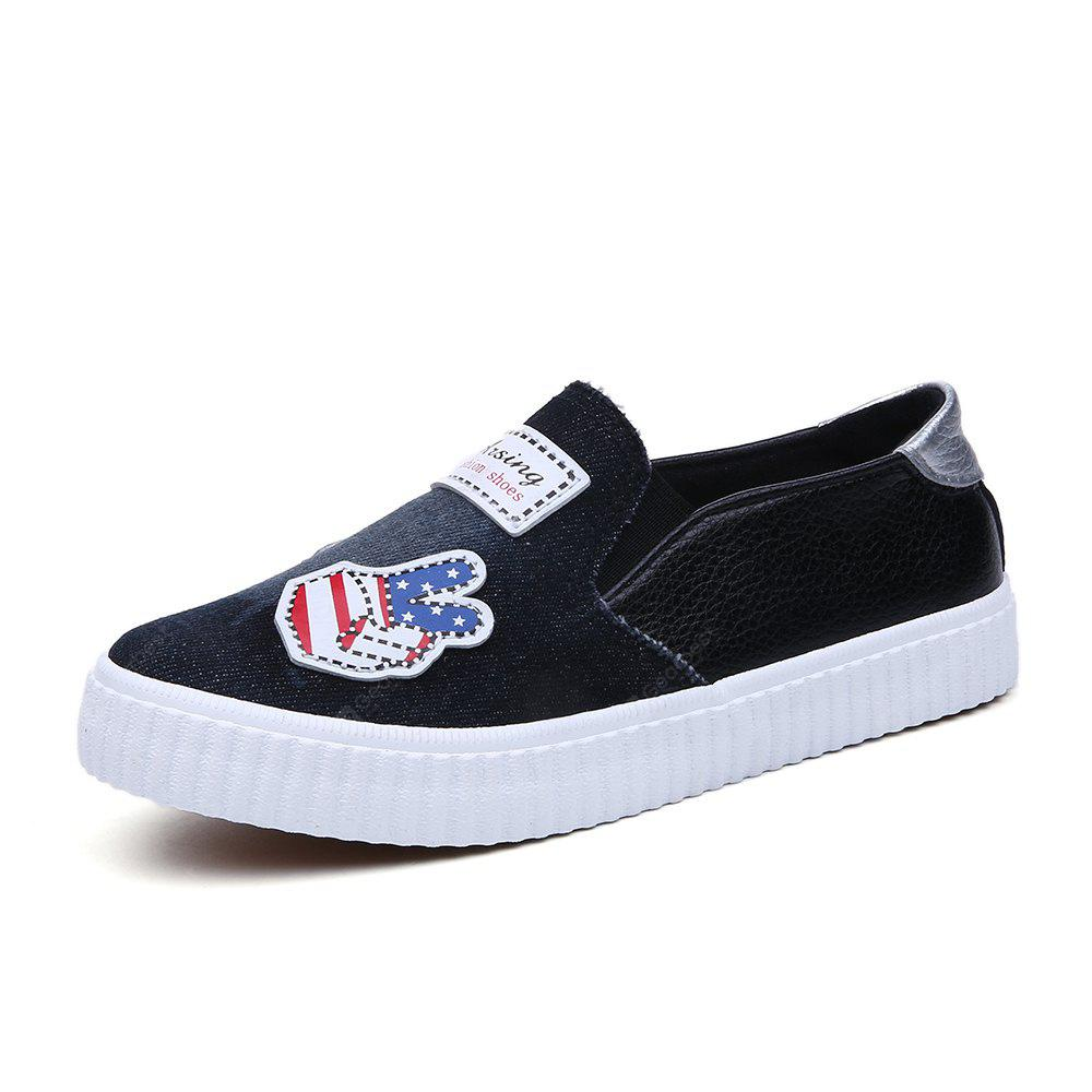 New Boys and Girls Set Foot Pedal Canvas Children's Shoes