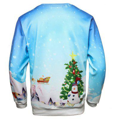 Christmas Santa Bell Pullover SweatshirtMens Hoodies &amp; Sweatshirts<br>Christmas Santa Bell Pullover Sweatshirt<br><br>Material: Polyester<br>Package Contents: 1 x Sweatshirt<br>Shirt Length: Regular<br>Sleeve Length: Full<br>Style: Casual<br>Weight: 0.3000kg