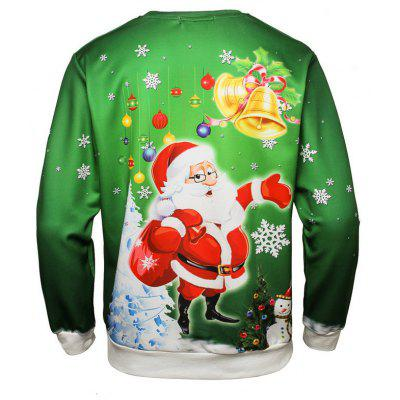 Christmas Bell Print Long Sleeve SweatshirtsMens Hoodies &amp; Sweatshirts<br>Christmas Bell Print Long Sleeve Sweatshirts<br><br>Material: Polyester<br>Package Contents: 1 x Sweatshirt<br>Shirt Length: Regular<br>Sleeve Length: Full<br>Style: Fashion<br>Weight: 0.3000kg