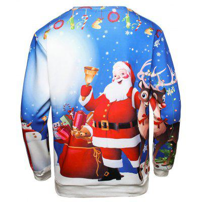 Christmas Santa Claus Long-sleeved SweatshirtMens Hoodies &amp; Sweatshirts<br>Christmas Santa Claus Long-sleeved Sweatshirt<br><br>Material: Polyester<br>Package Contents: 1 x Sweatshirt<br>Shirt Length: Regular<br>Sleeve Length: Full<br>Style: Fashion<br>Weight: 0.3000kg