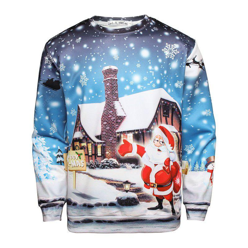 Men's Santa Clause Pullover Sweatshirt