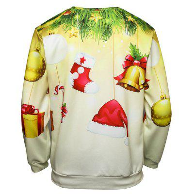 Mens Christmas Santa Claus Gift SweatshirtMens Hoodies &amp; Sweatshirts<br>Mens Christmas Santa Claus Gift Sweatshirt<br><br>Material: Polyester<br>Package Contents: 1 x Sweatshirt<br>Shirt Length: Regular<br>Sleeve Length: Full<br>Style: Fashion<br>Weight: 0.3000kg