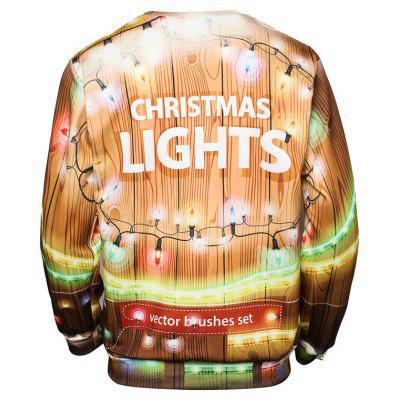 Christmas Lamp Print Pullover SweatshirtMens Hoodies &amp; Sweatshirts<br>Christmas Lamp Print Pullover Sweatshirt<br><br>Material: Polyester<br>Package Contents: 1 x Sweatshirt<br>Shirt Length: Regular<br>Sleeve Length: Full<br>Style: Fashion<br>Weight: 0.3000kg