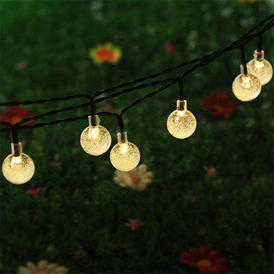 20 LED Ball Solar Christmas Decorative Lights Decoração para casa