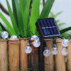20 LED Ball Solar Christmas Decorative Lights Home Decoration - WARM WHITE LIGHT