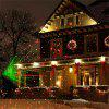 YWXLight Mini Projector LED Lawn Lamp for Party Christmas Holiday Decoration AC 100 - 240V - BLACK