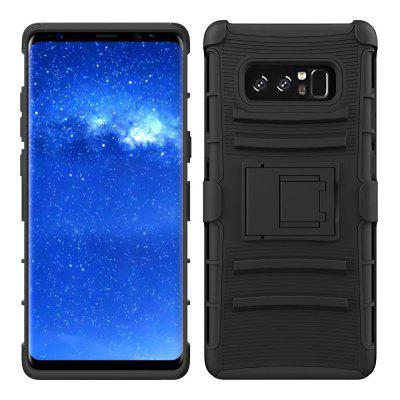Soldier Clip Triple Armor Phone Case para Samsung Galaxy Note 8