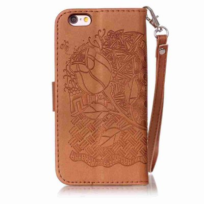 Double Embossed Rich Flowers PU TPU Phone Case for  iPhone 6 Plus / 6S PlusiPhone Cases/Covers<br>Double Embossed Rich Flowers PU TPU Phone Case for  iPhone 6 Plus / 6S Plus<br><br>Compatible for Apple: iPhone 6 Plus, iPhone 6S Plus<br>Features: Cases with Stand, With Credit Card Holder, With Lanyard, Anti-knock, Dirt-resistant, FullBody Cases<br>Material: TPU, PU Leather<br>Package Contents: 1 x Phone Case<br>Package size (L x W x H): 16.10 x 8.10 x 1.80 cm / 6.34 x 3.19 x 0.71 inches<br>Package weight: 0.0850 kg<br>Style: Novelty, Floral, Solid Color, Ultra Slim, Designed in China